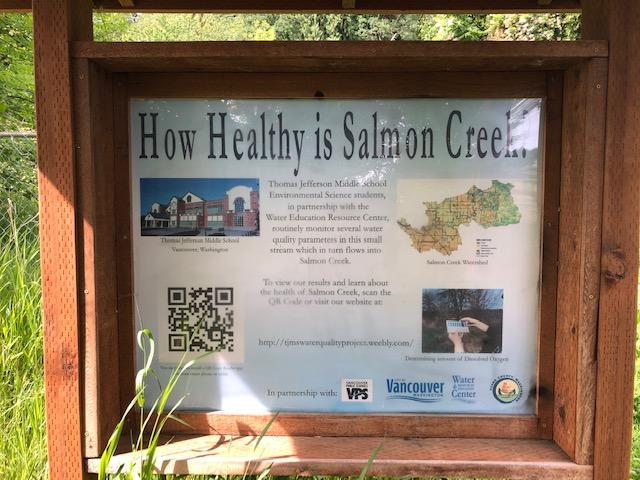 Salmon Creek Greenway Trail Cleanup