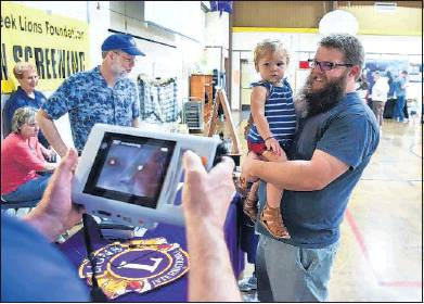 Salmon Creek Lions Eye Screening